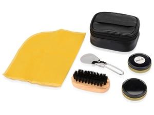 Набор для чистки обуви Шик, черный