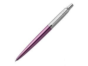 Шариковая ручка Parker Jotter Essential, Victoria Violet CT, фиолетовый/серебристый