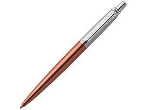 Шариковая ручка Parker Jotter Essential, Chelsea Orange CT, оранжевый/серебристый