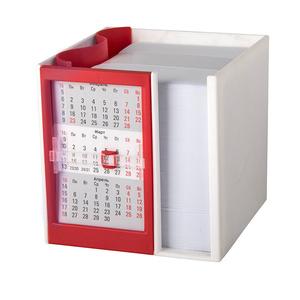 Календарь настольный на 2 года с кубариком