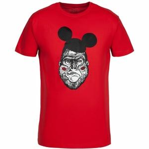 Футболка Monkey Mouse, красная