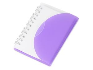 Блокнот А7 Post, пурпурный