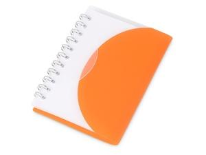 Блокнот А7 Post, оранжевый