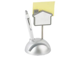 Подставка для визиток и ручки с держателем для бумаги