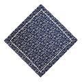 Платок шелковый Luxembourg Blue