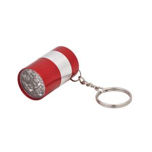 Брелок-фонарик, красный#
