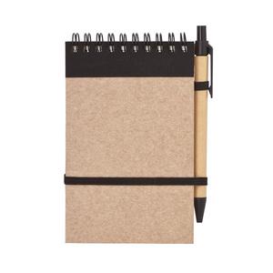 Блокнот с ручкой