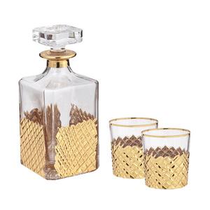 Набор для виски, графин, 2 стакана