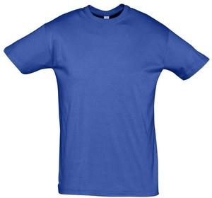 Футболка REGENT 150, ярко-синяя (royal)