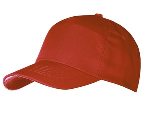 Бейсболка Unit First, красная