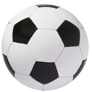 Мяч футбольный Street, бело-черный