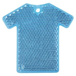 Светоотражатель «Футболка», синий
