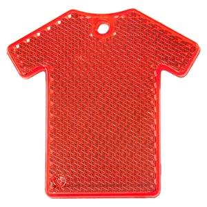 Светоотражатель «Футболка», красный
