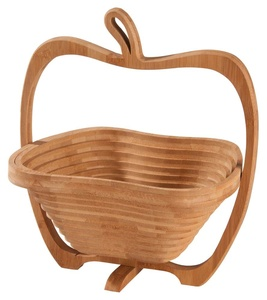 Фруктовница из бамбука «Яблоко»