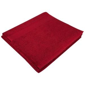 Полотенце махровое Soft Me Large, бордовое