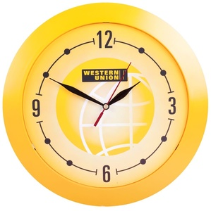 Часы настенные Vivid Large, желтые