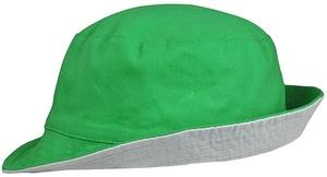 Панама Unit Summer двусторонняя, ярко-зеленая с серым