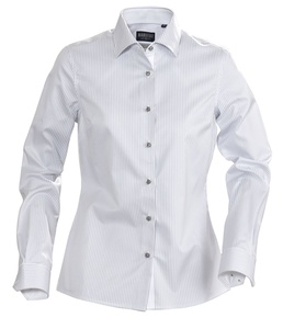 Рубашка женская в полоску RENO LADIES, серая