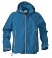 Куртка софтшелл мужская SKYRUNNING, синяя (морская волна)