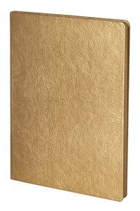 Блокнот Ingot, золотистый