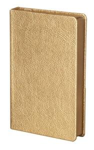 Ежедневник Ingot, недатированный, золотистый